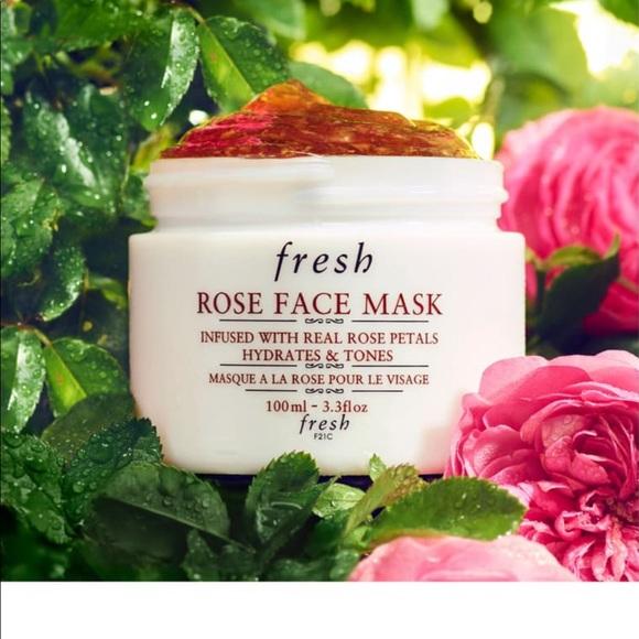 Fresh Rose Face Mask for women and men.